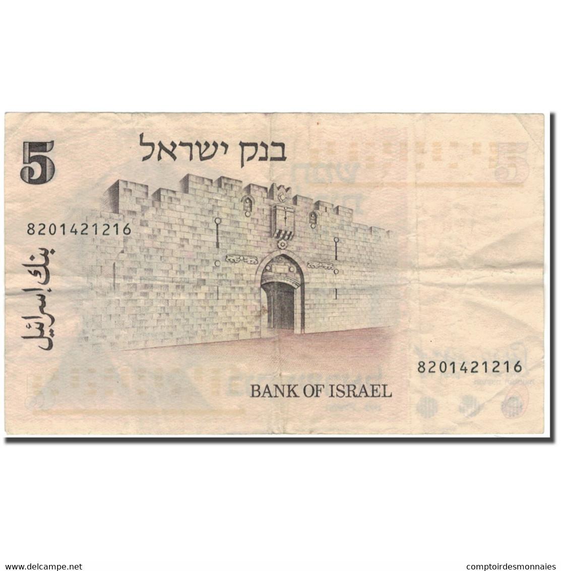 Billet, Israel, 5 Lirot, 1973, KM:38, TB+ - Israel
