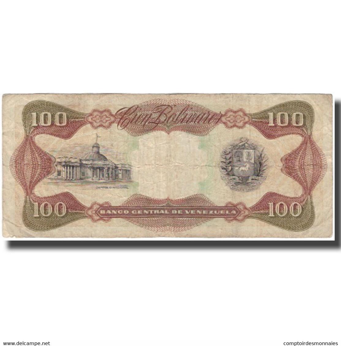 Billet, Venezuela, 100 Bolivares, 1990-05-31, KM:66c, TB - Venezuela