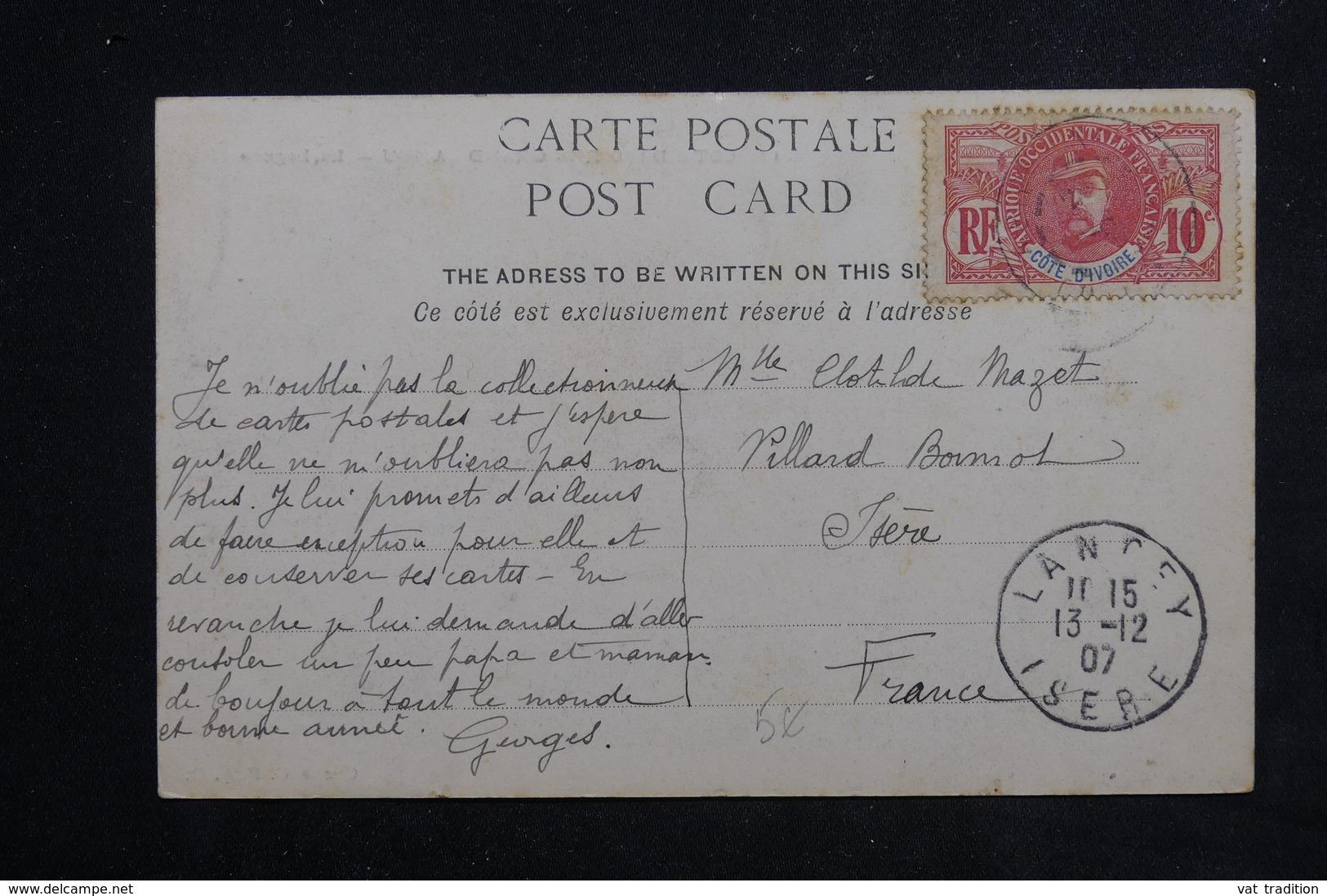 COTE D'IVOIRE - Carte Postale - Grand Lahou - La Lagune - L 22945 - Côte-d'Ivoire