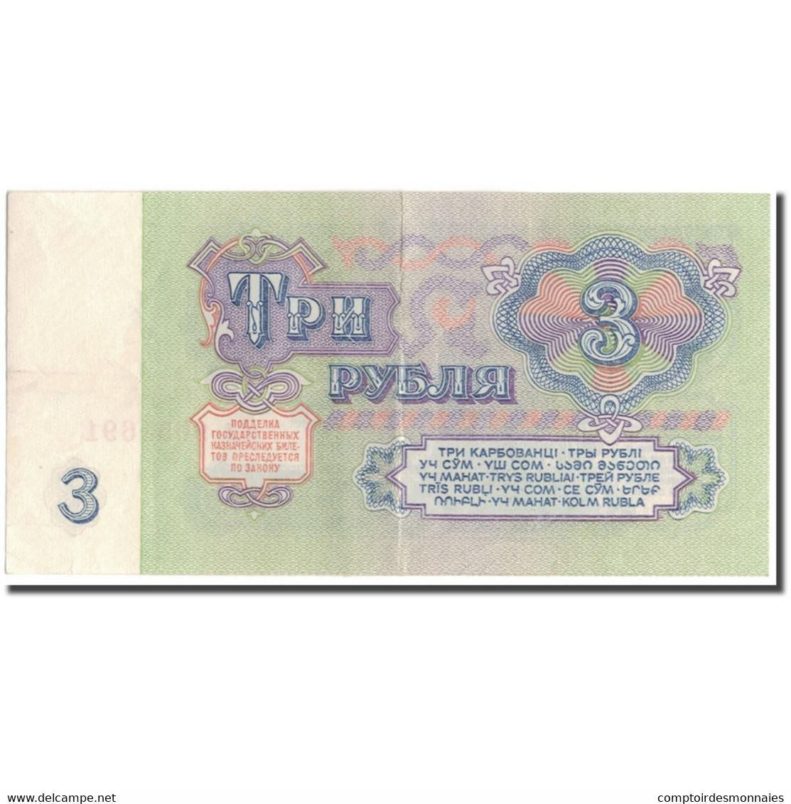 Billet, Russie, 3 Rubles, 1961, KM:223a, TTB+ - Russie