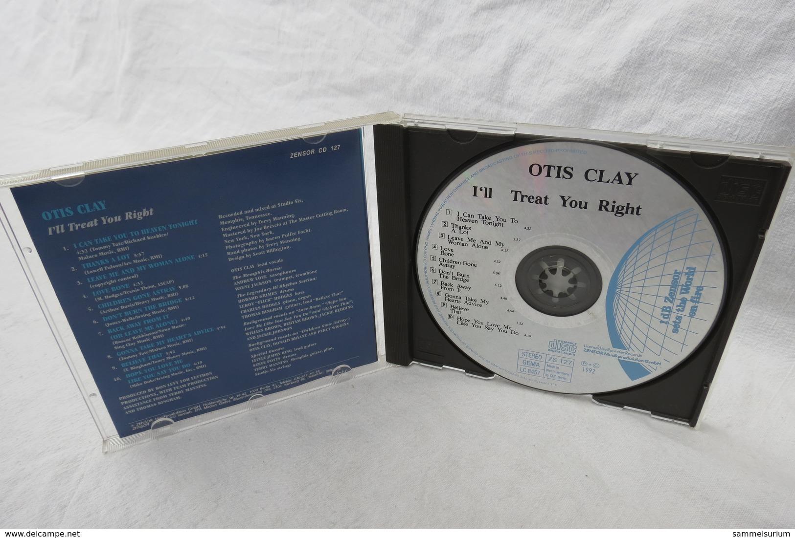 "CD ""Otis Clay"" I'll Treat You Right - Soul - R&B"