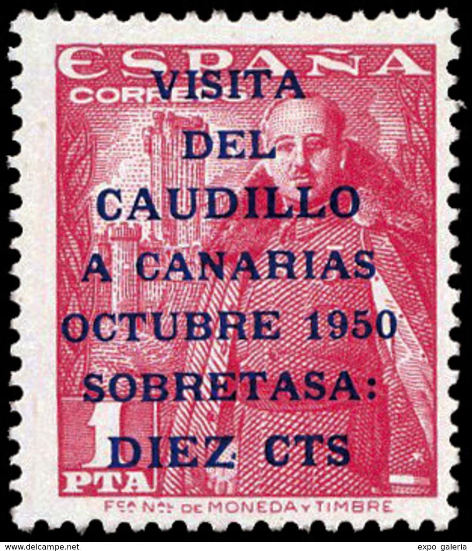 """Ed. *** 1088HE/1089HE """"Caudillo"""" 14 ¾. Lujo.Cat.+700€ - 1931-Aujourd'hui: II. République - ....Juan Carlos I"""
