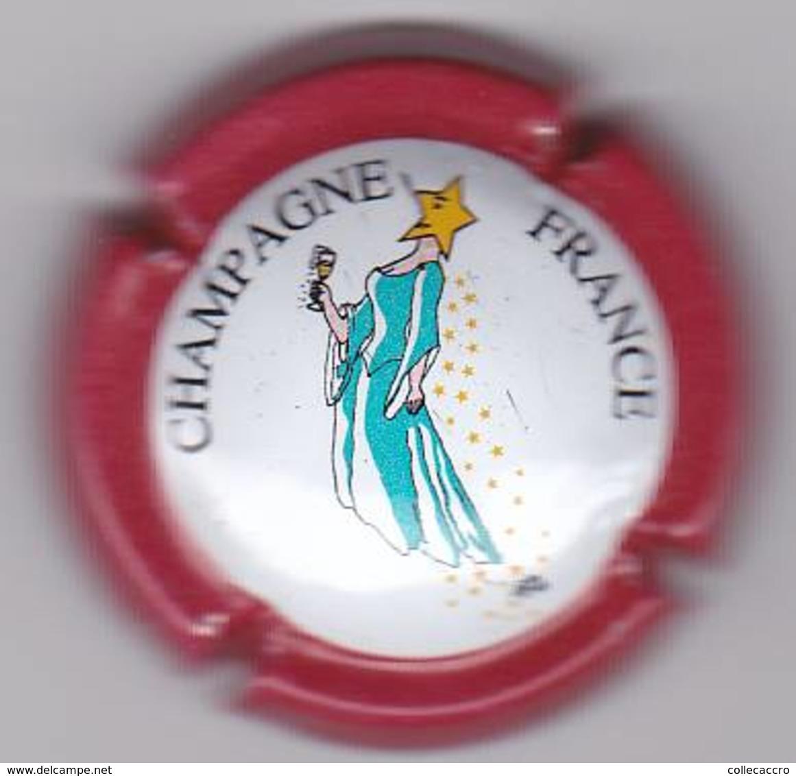 GENERIQUE N°655b ROUGE CLAIR - Champagne