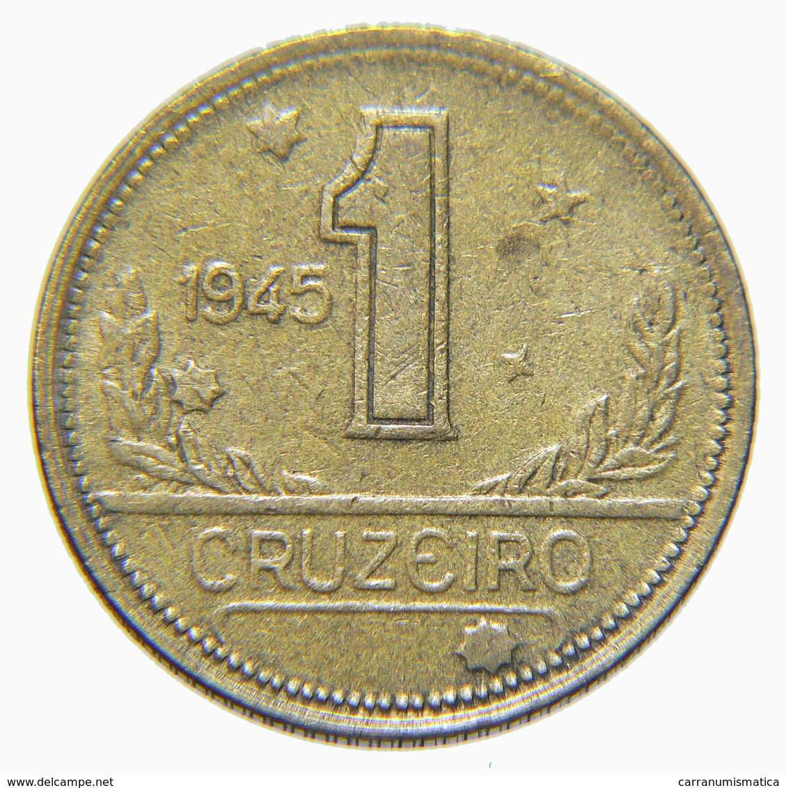 [NC] BRASILE - 1 CRUZEIRO - 1945 (nc3996) - Brésil