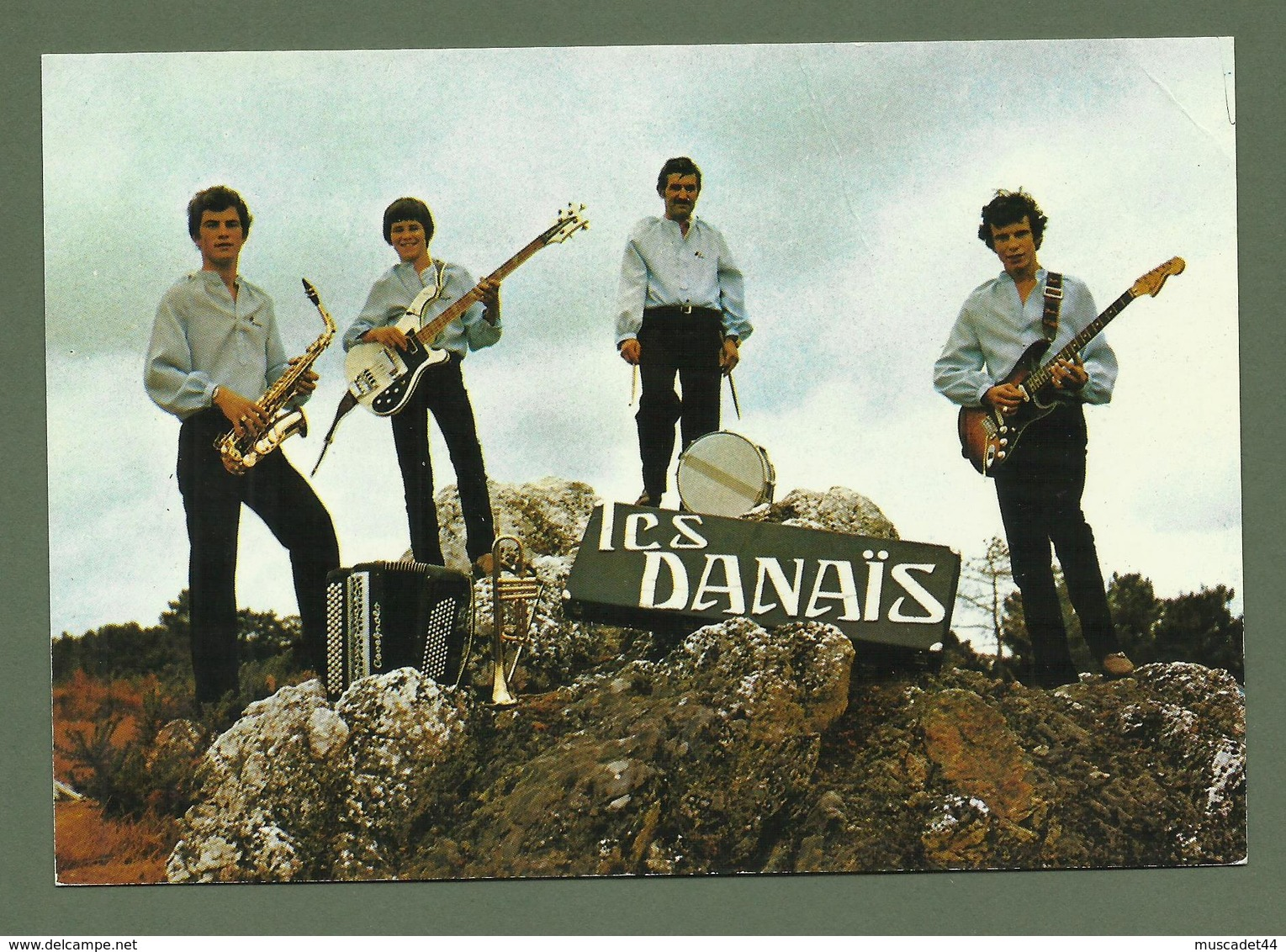 CARTE POSTALE  44 AVESSAC ORCHESTRE LES DANAIS FRANCIS DAVID LOTISSEMENT DE LA GARE LOIRE ATLANTIQUE - France