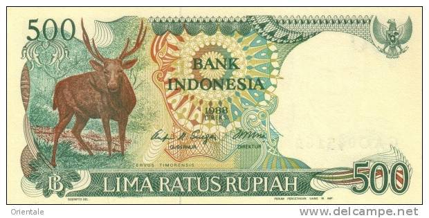 INDONESIA P. 123a 500 R 1988 UNC - Indonésie