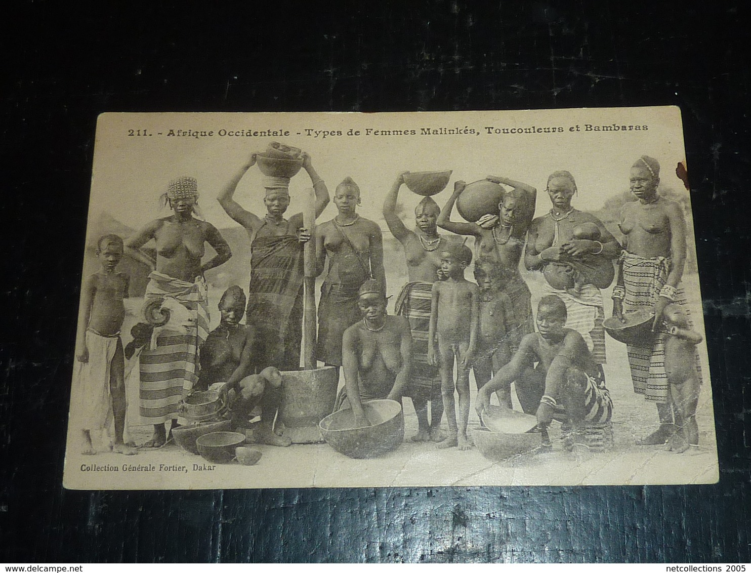 AFRIQUE OCCIDENTALE - TYPES DE FEMMES MALINKES, TOUCOULEURS ET BAMBARAS - AFRIQUE (AD) - Côte-d'Ivoire
