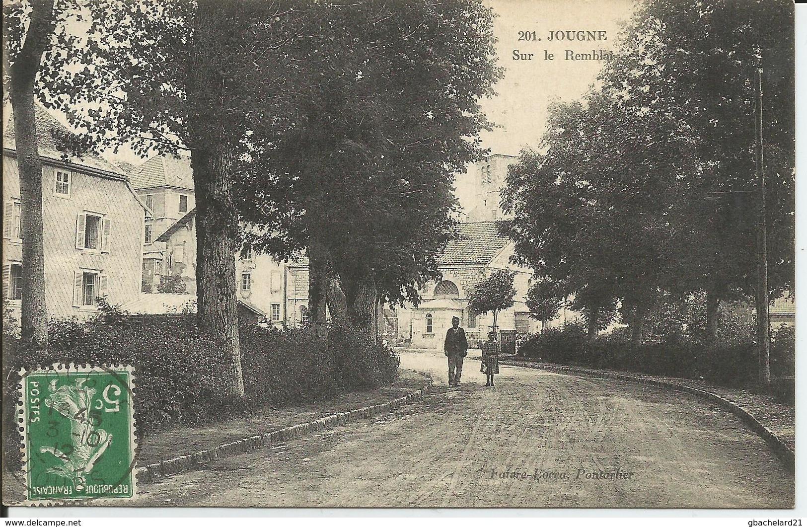 Jougne (Doubs) - Sur Le Remblai - Faivre-Locca - Altri Comuni