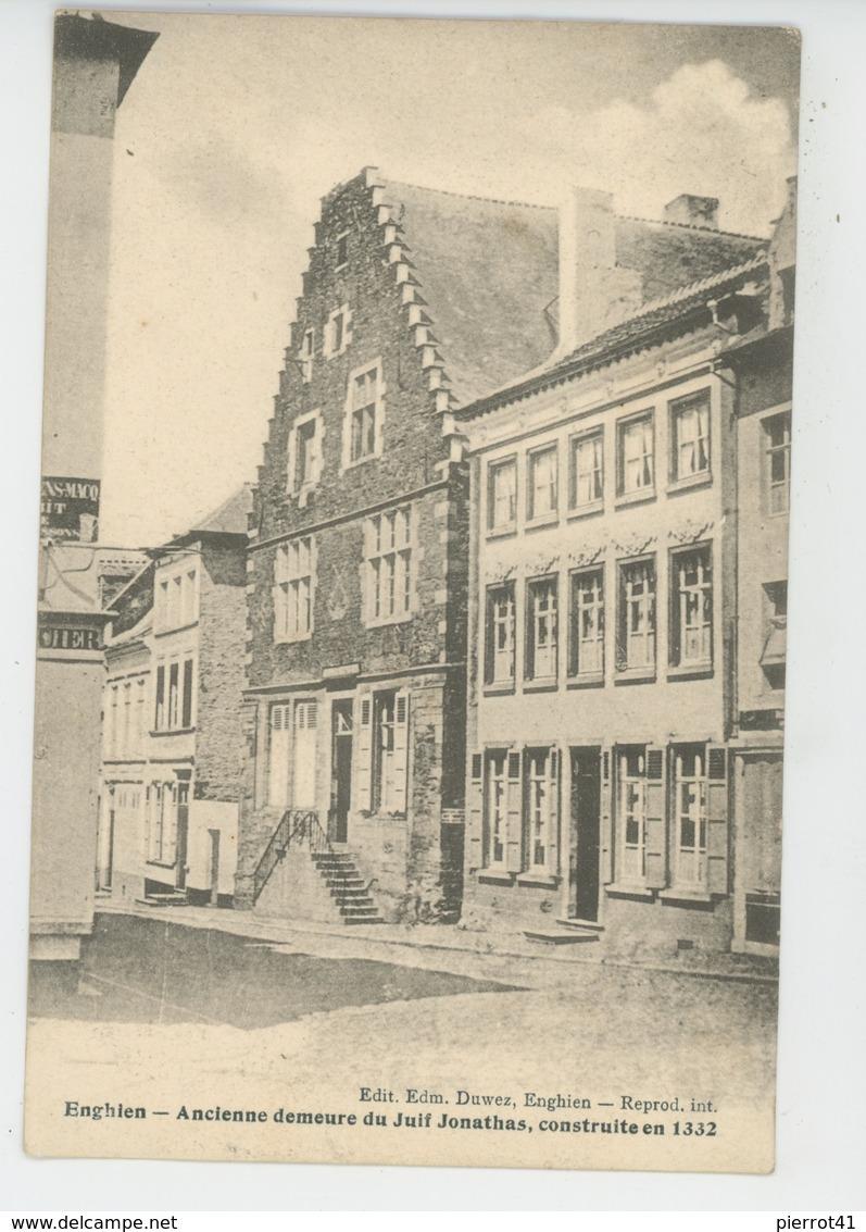 BELGIQUE - HAINAUT - ENGHIEN - Ancienne Demeure Du Juif Jonathas , Construite En 1332 - Enghien - Edingen