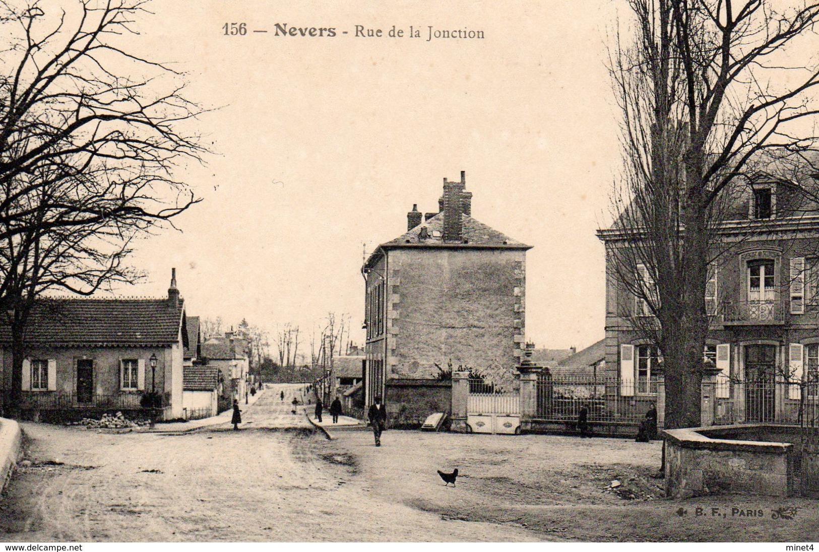 NEVERS 58 RUE DE LA JONCTION Personnages - Nevers