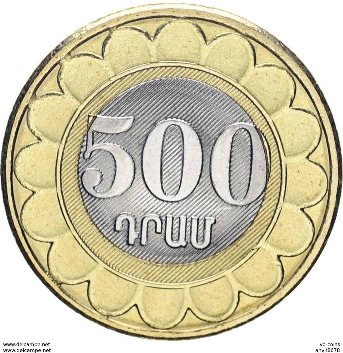ARMENIA  500 DRAM  2003 UNC - Arménie