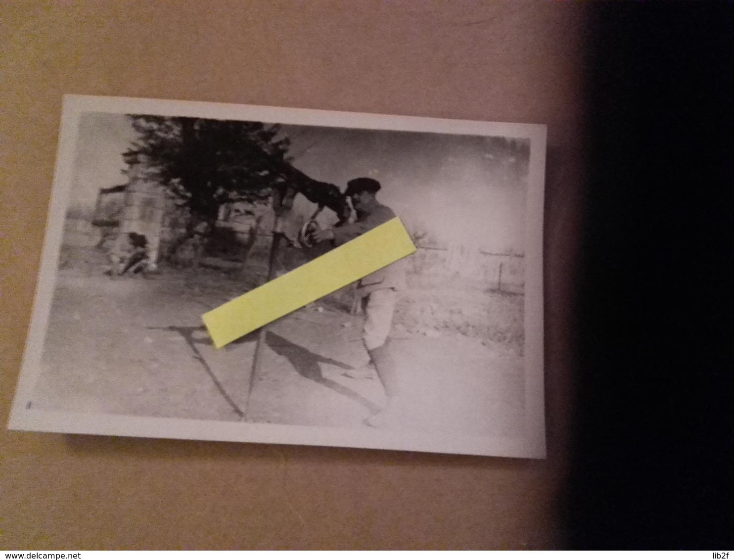1917-1918 Chasseur à Pieds DCA FLAK Mitrailleuse St étienne Poilu Tranchée W1 1914 1918 14-18 - War, Military