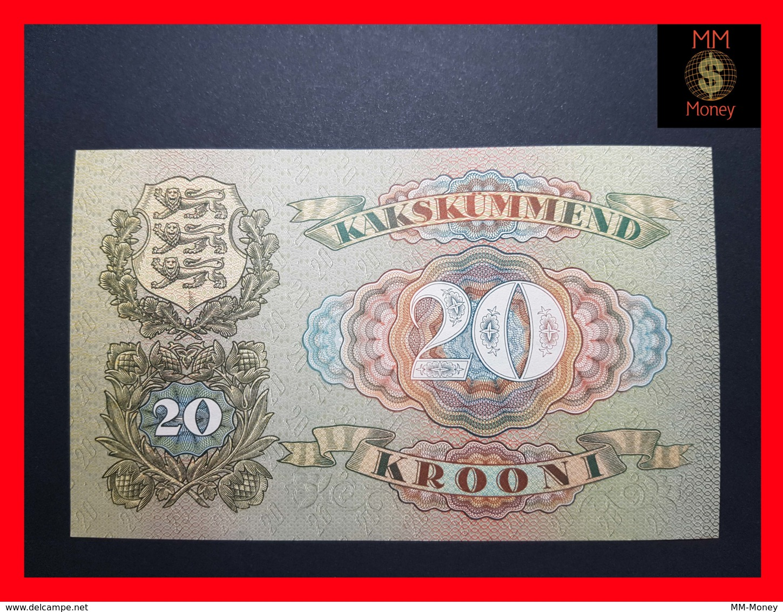 ESTONIA 20 Krooni 1932 P. 64  UNC - - Estonia