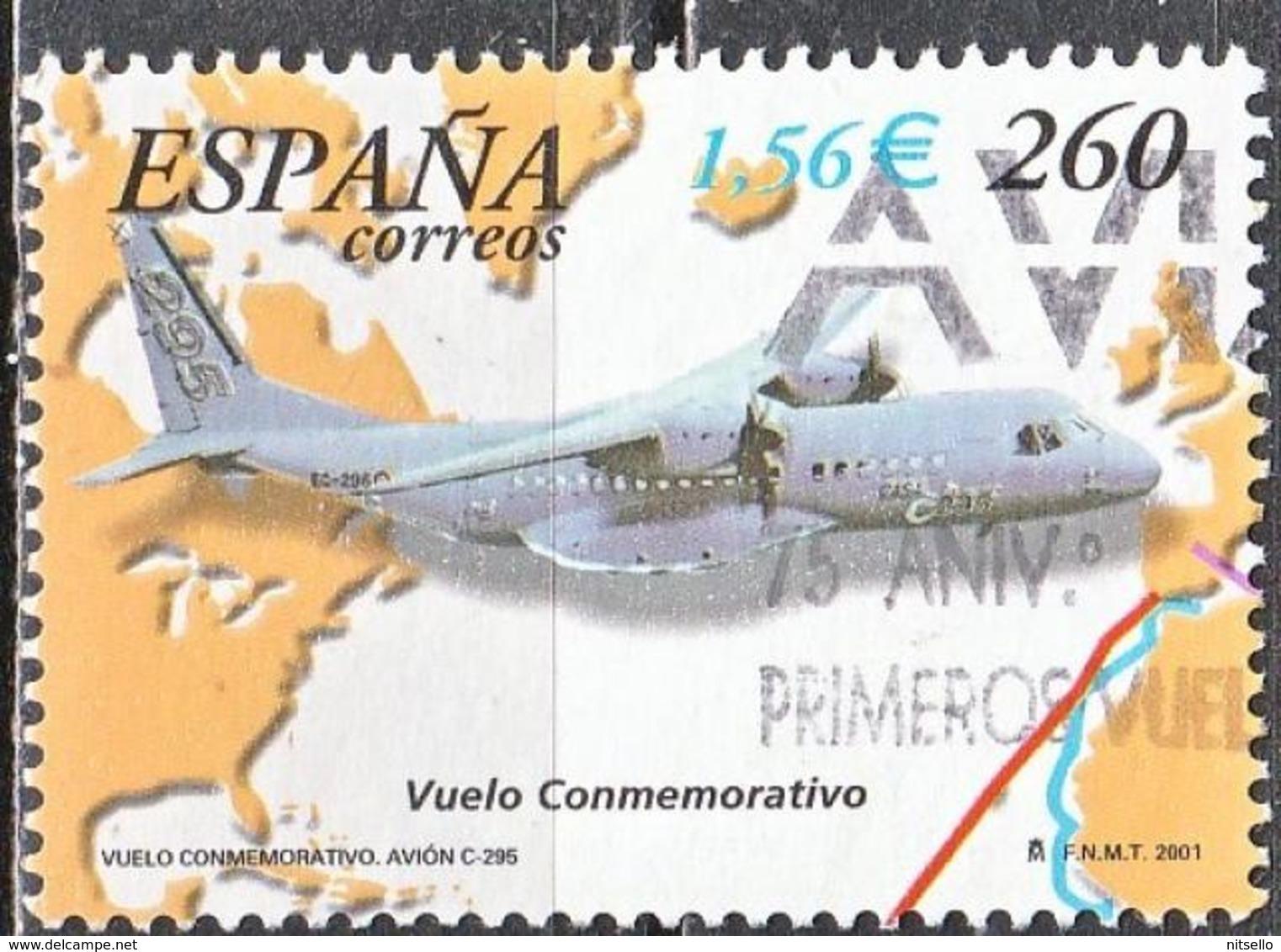 LOTE 1828  ///  (C080) ESPAÑA  2001  Nº:3360 - 1931-Hoy: 2ª República - ... Juan Carlos I
