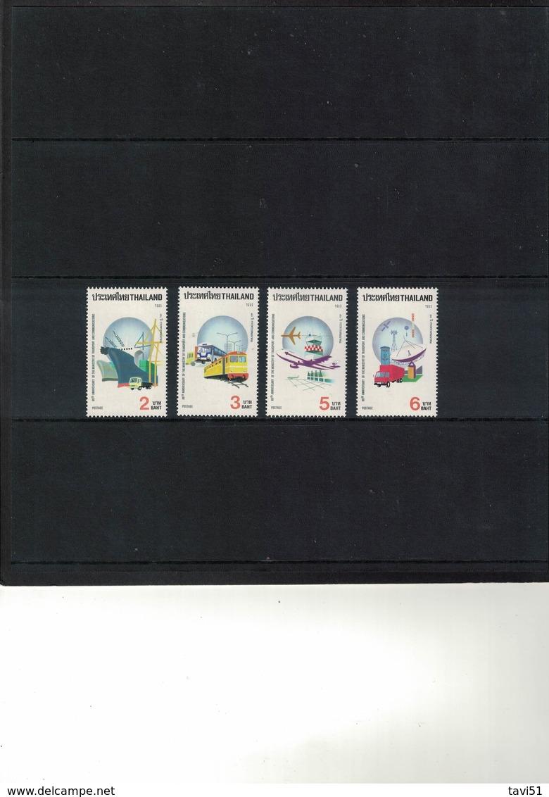THAILAND , 1992 , ** , MNH , Postfrisch , Mi.Nr. 1476 - 1479 - Thailand