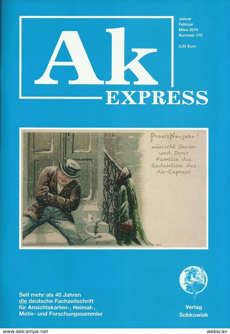Zeitschrift AK-Express 10 Aktuelle Hefte - Bestzustand - Hobbies & Collections