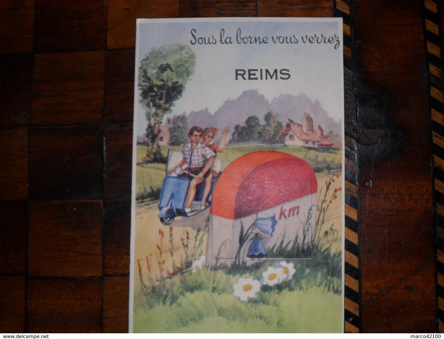 Reims,carte A Système,10 Vues - Reims