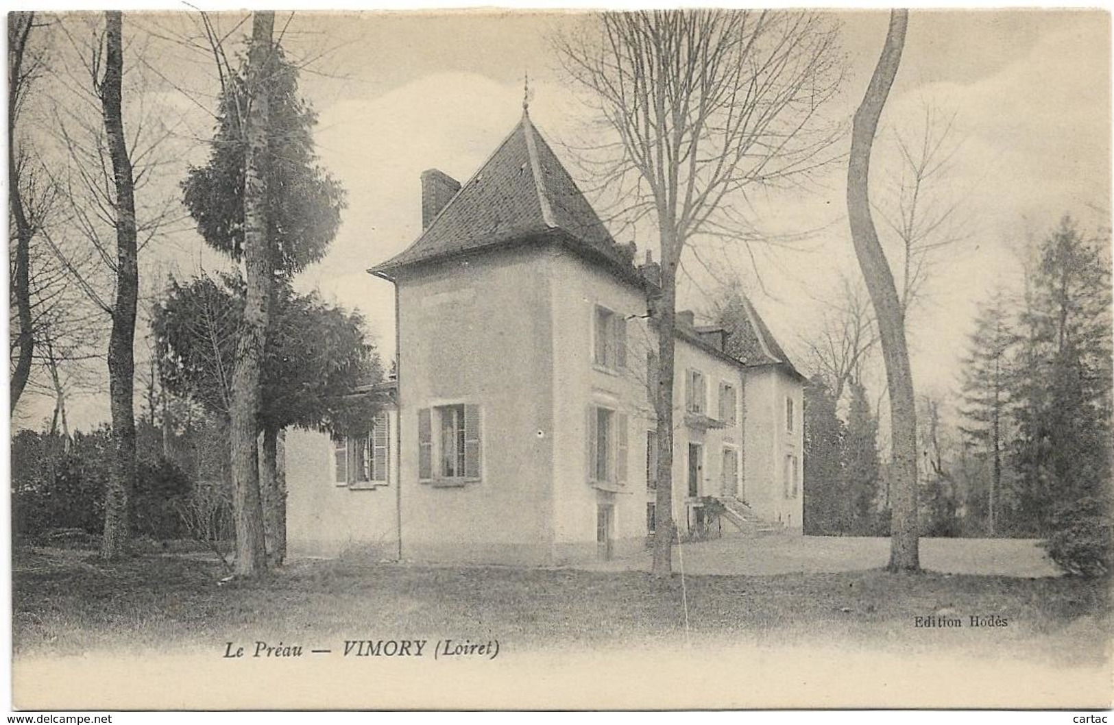 D45 - VIMORY - LE PREAU - France