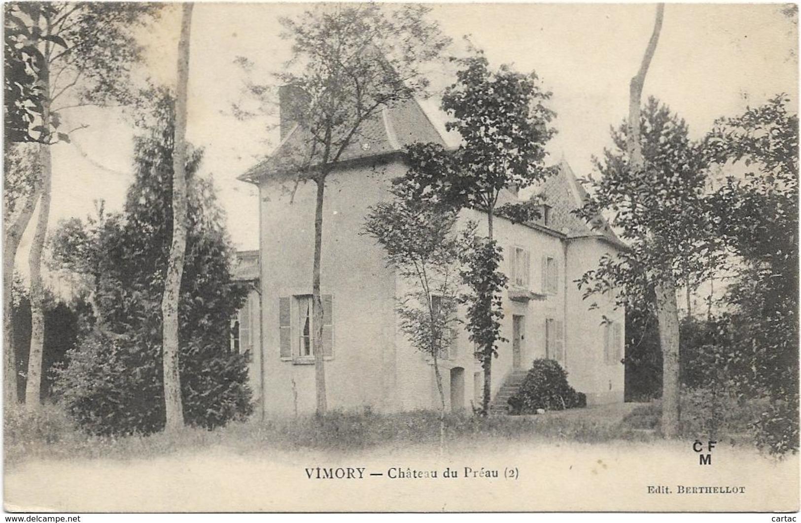 D45 - VIMORY - CHÂTEAU DU PREAU - France