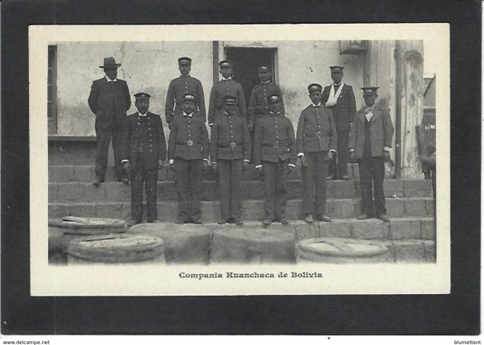 CPA Bolivie Bolivia  Non Circulé Dos Non Séparé Compania Huanchaca - Bolivie