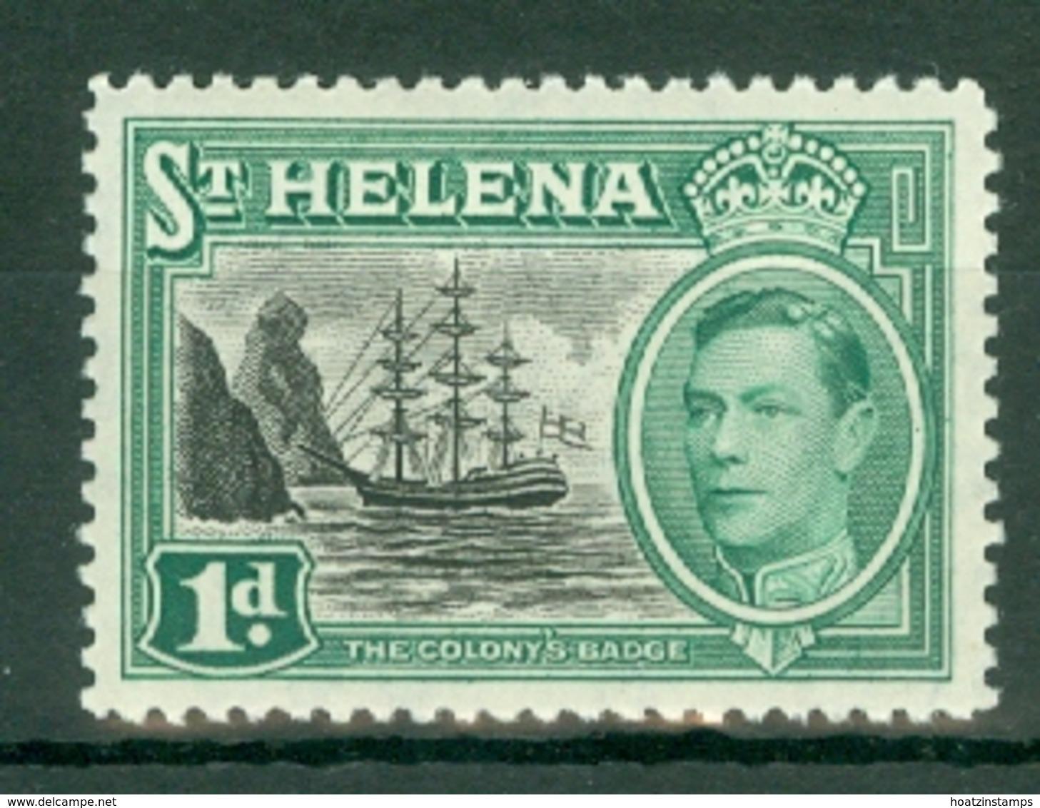 St Helena: 1949   KGVI     SG149    1d       MH - Isola Di Sant'Elena