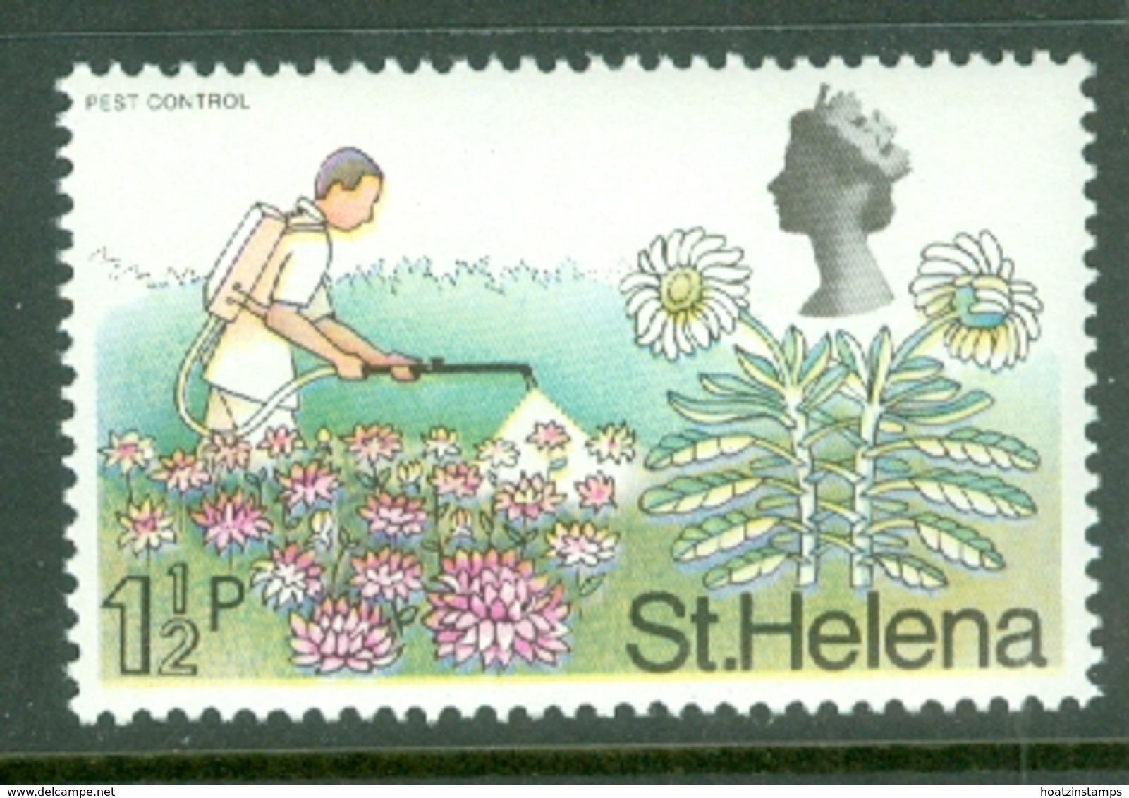 St Helena: 1971   QE II - Pictorial - Decimal Currency    SG263    1½p       MNH - St. Helena