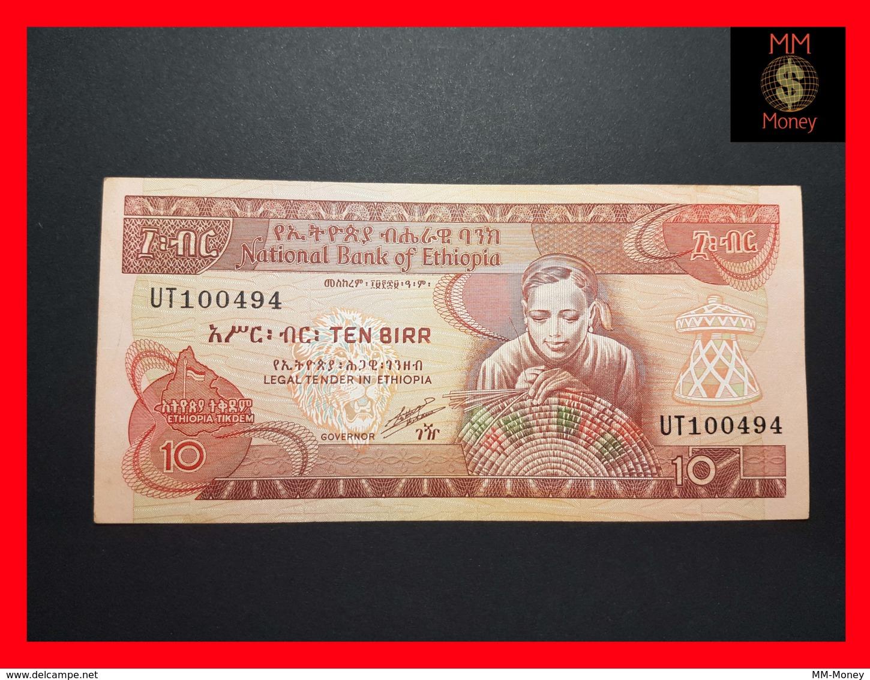ETHIOPIA 10 Birr  P. 43 B  XF \ AU - Ethiopie