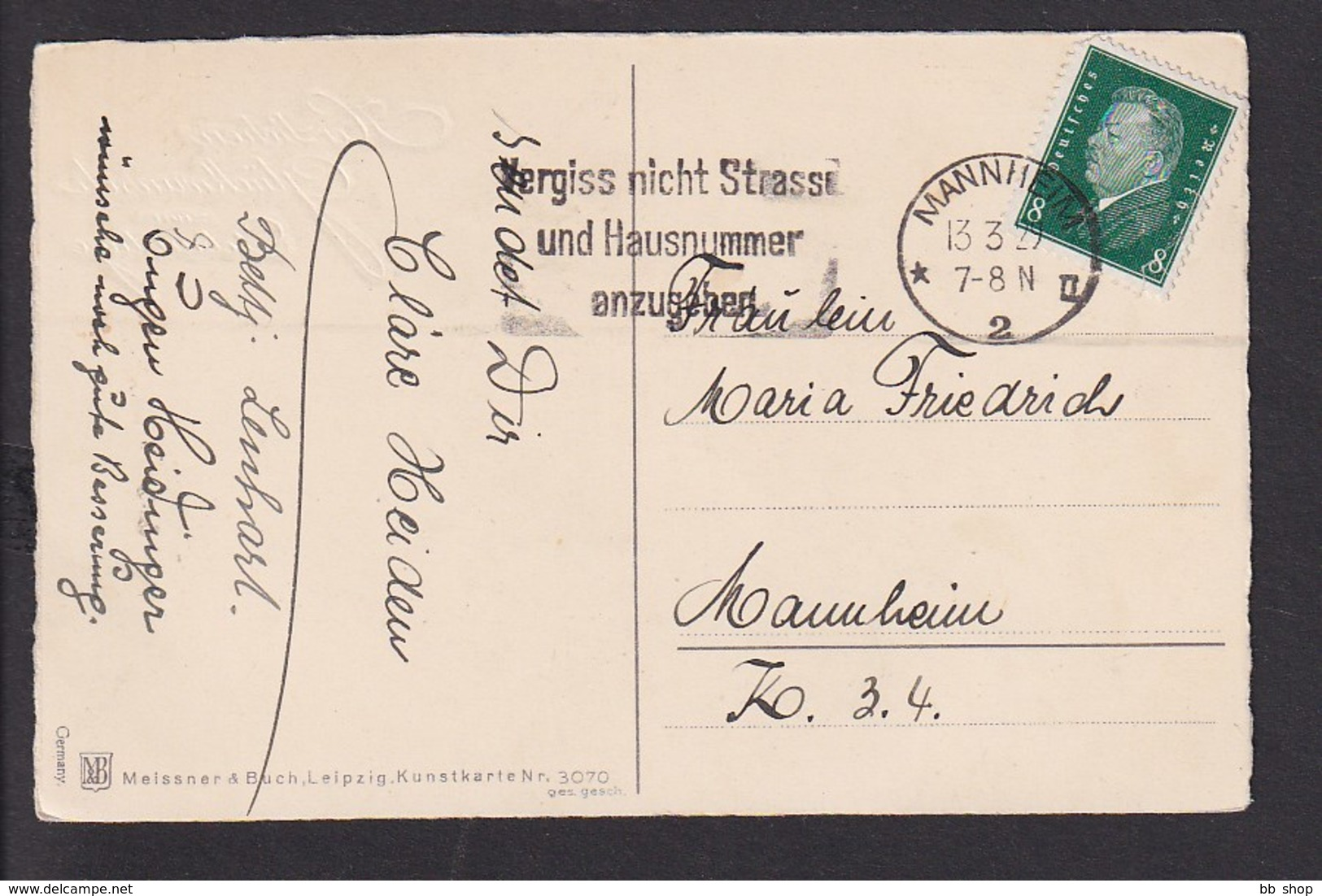 D13 /    Meissner & Buch / Glücksklee Klee / Mannheim - Non Classificati