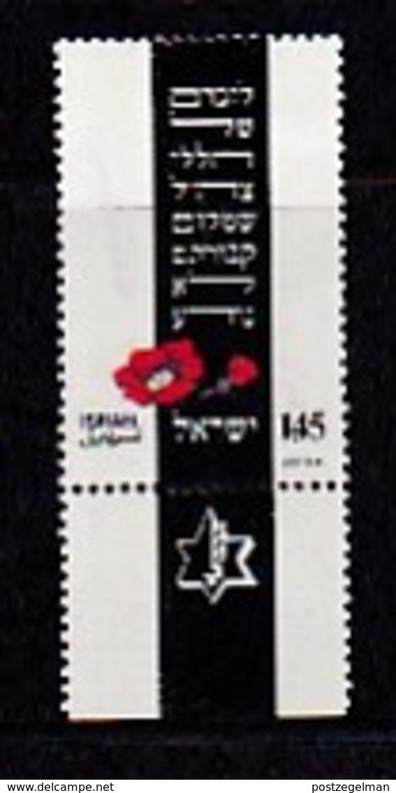 ISRAEL, 1975, Unused Hinged Stamp(s), With Tab, Fallen Soldiers, SG600, Scannr. 17452 - Israel