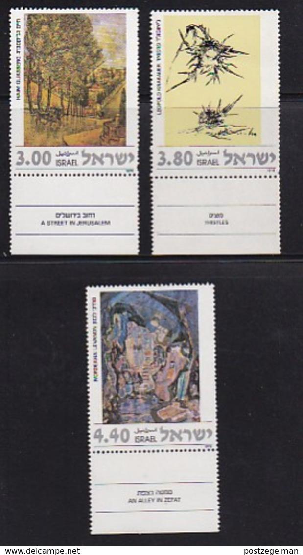 ISRAEL, 1978, Unused Hinged Stamp(s), With Tab, Jewish Art, SG697-699, Scannr. 17485 - Israel