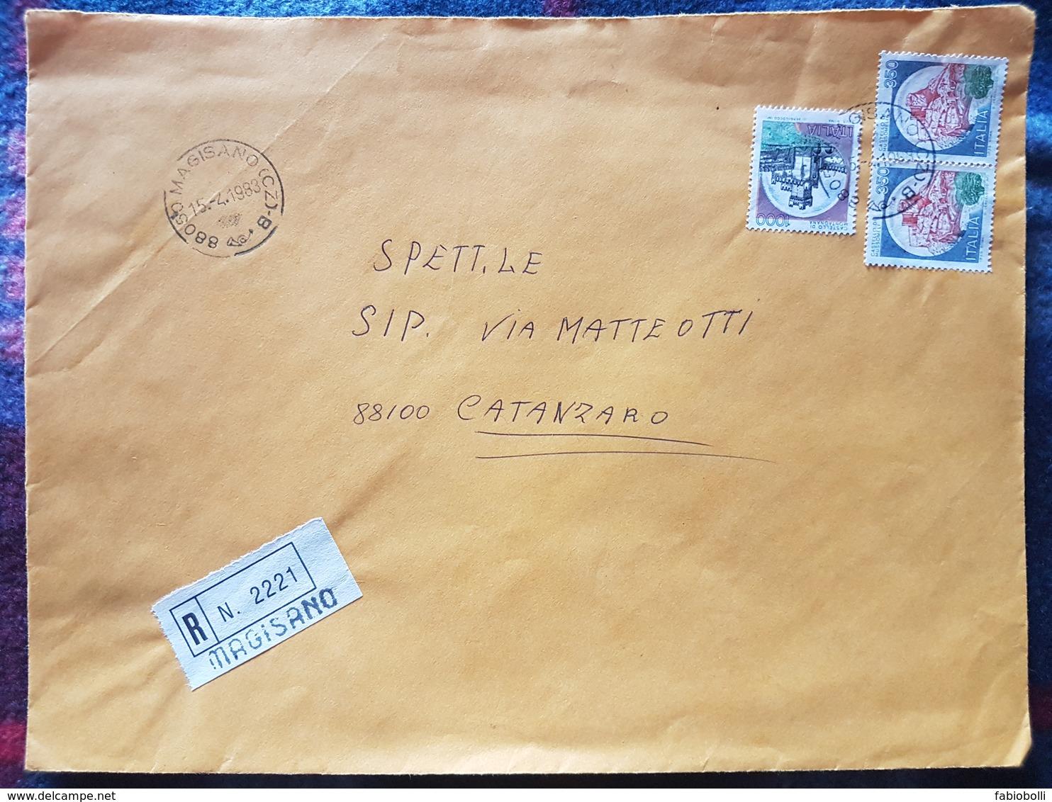 (17926) STORIA POSTALE ITALIA 1983 - 1981-90: Storia Postale