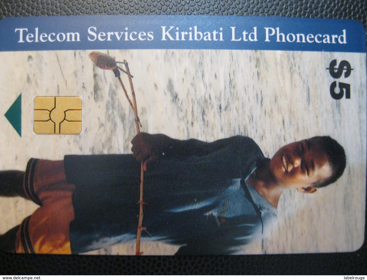 Telecarte De Kiribati - Tarjetas Telefónicas