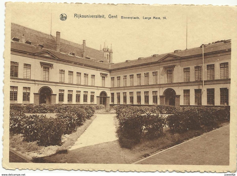 Gent Rijksuniversiteit Binnenplaats Lange Meire 14  (11446) - Gent