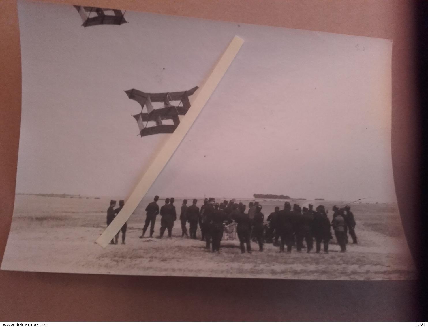 1914 Aérostation Cerf-volants Ballons Aérostiers Observation Artillerie Poilu Tranchée W1 1914 1918 14-18 - War, Military