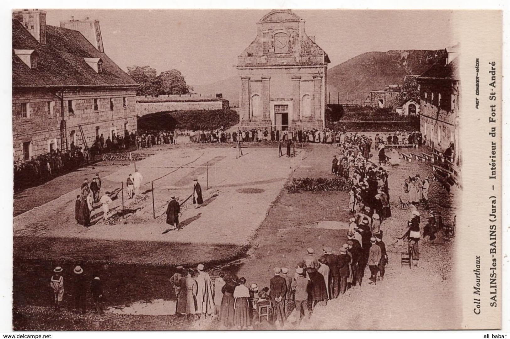 Salins Les Bains : Intérieur Du Fort Saint André (Collection Mourthaux - Phot. Combier, Macon) - France