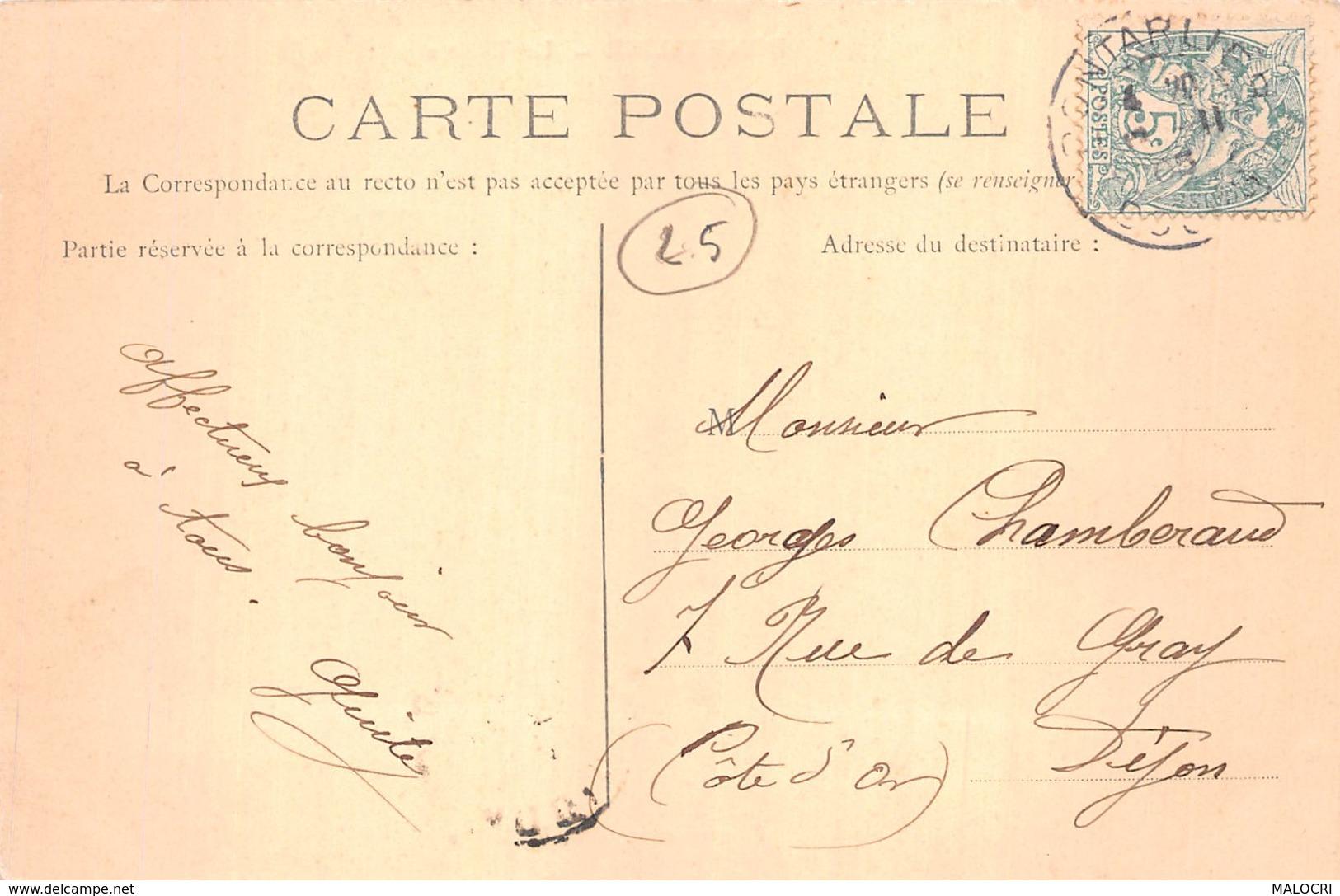 25-PONTARLIER-N°1078-A/0275 - Pontarlier