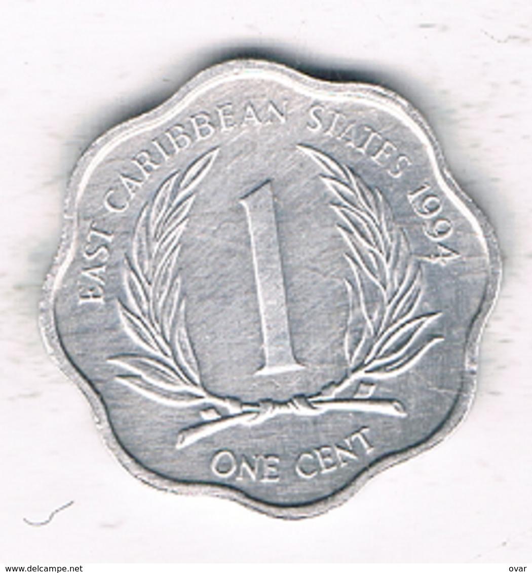 1 CENT 1994 EAST CARIBBAEN  STATES /1378/ - Autres – Amérique