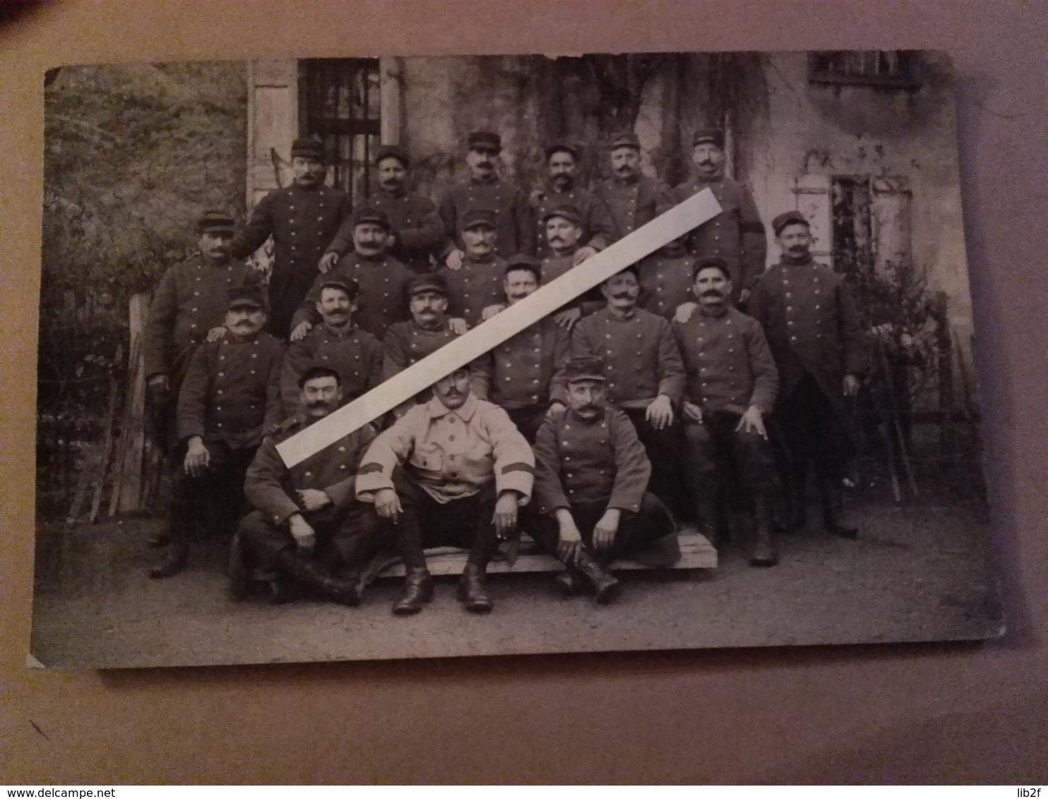 1914 1915 Mirande Gers 88eme Régiment D'infanterie 1ere Tenues Bleu Horizon Molletires Ww1 1914 1918 14-18 - War, Military