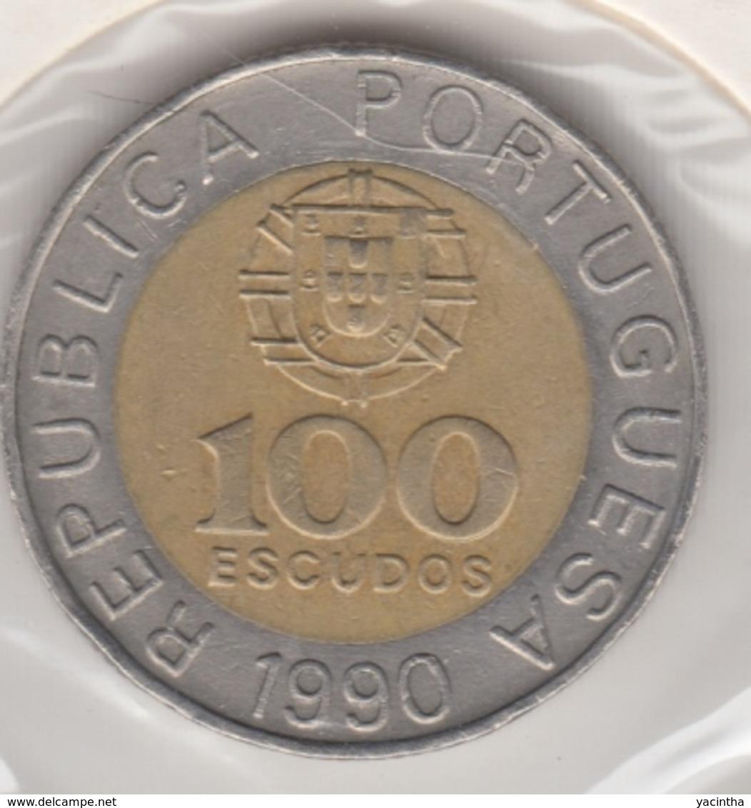 @Y@    Portugal  100 Escudos   1990   (4671) - Portugal