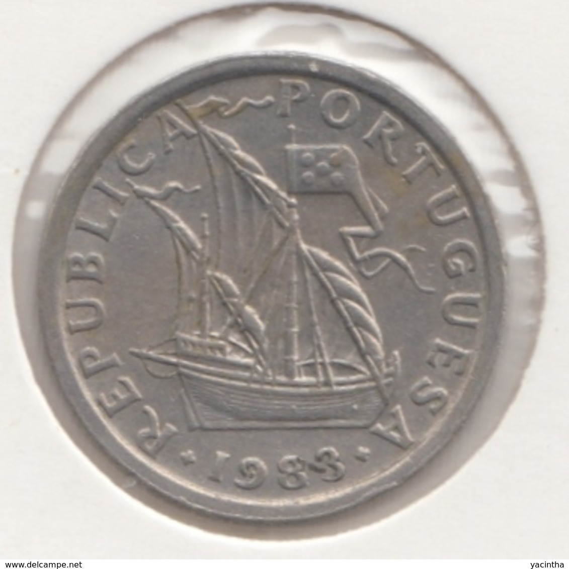 @Y@    Portugal  2 1/2    Escudos   1983      (4659) - Portugal