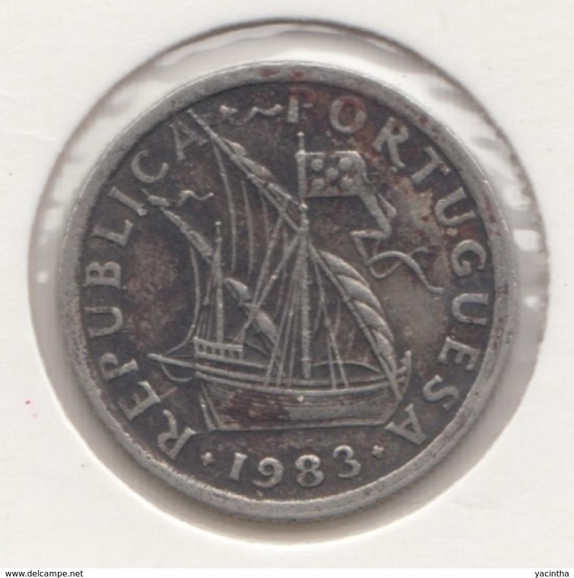 @Y@    Portugal  2 1/2    Escudos   1983      (4658) - Portugal