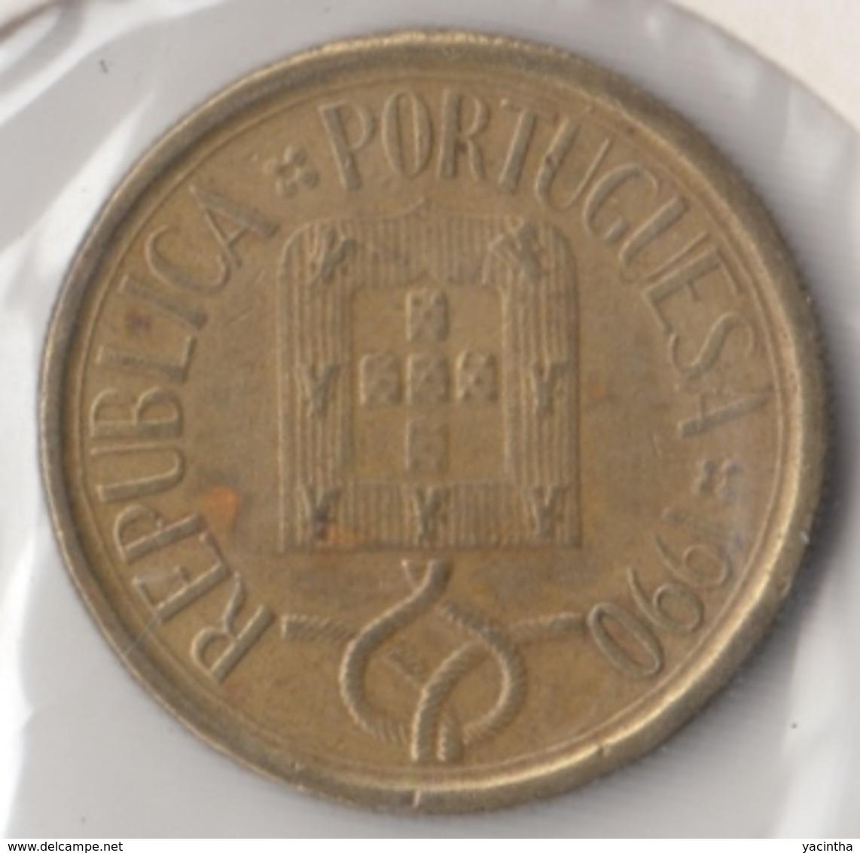 @Y@    Portugal  5  Escudos   1990      (4655) - Portugal