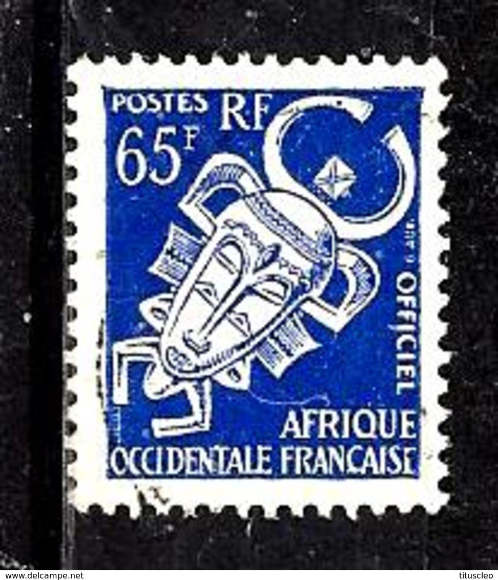 AFRIQUE OCCIDENTALE FRANÇAISE S10° 65f Outremer Masque (10% De La Cote + 0,15) - A.O.F. (1934-1959)