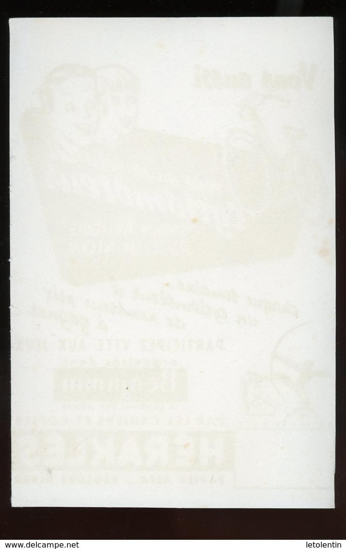 BUVARD:  CAHIERS ET COPIES HERAKLES - FORMAT 14X20,5 Cm - Papeterie