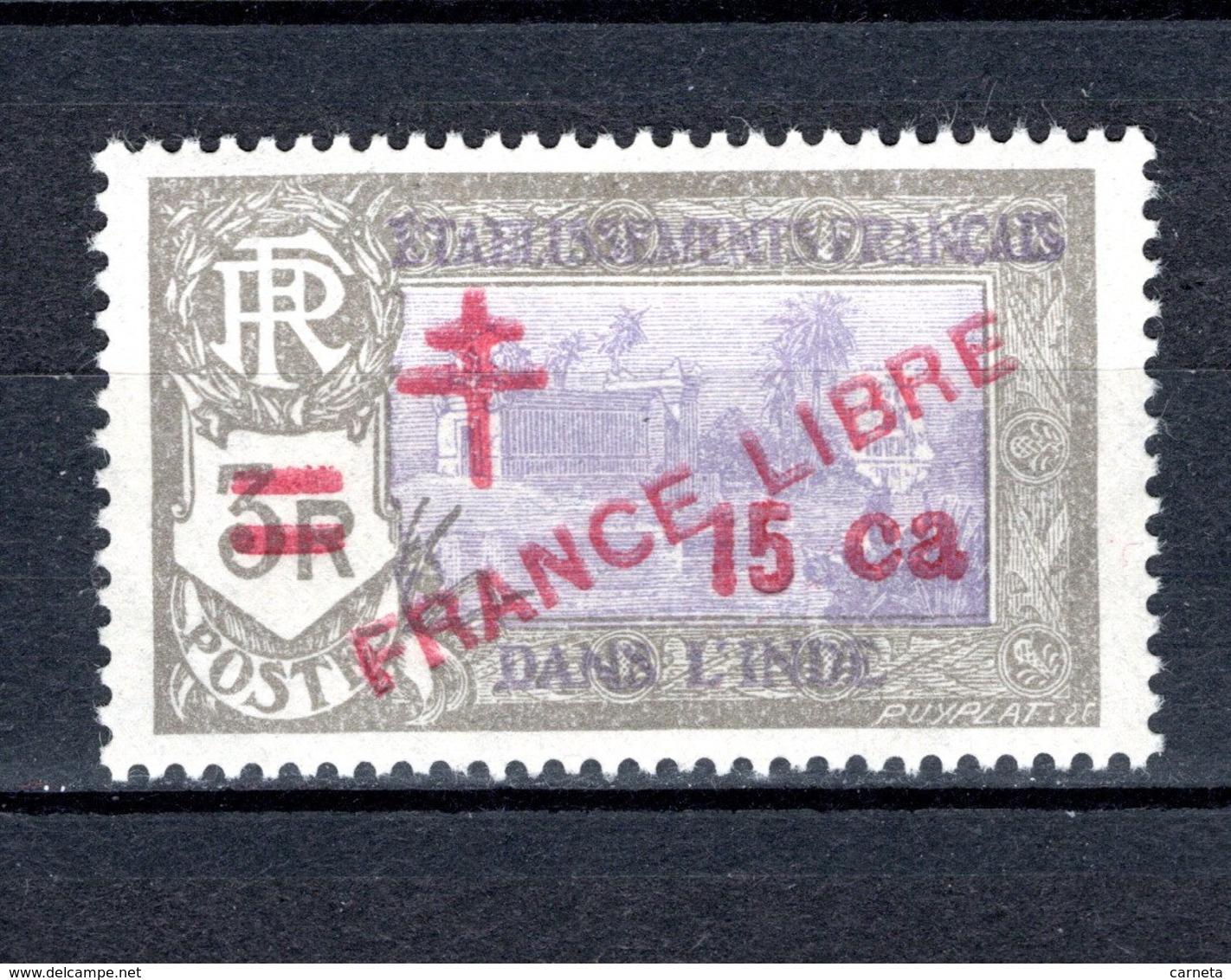 INDE N° 208 NEUF SANS CHARNIERE COTE 1.55€  TEMPLE - Unused Stamps