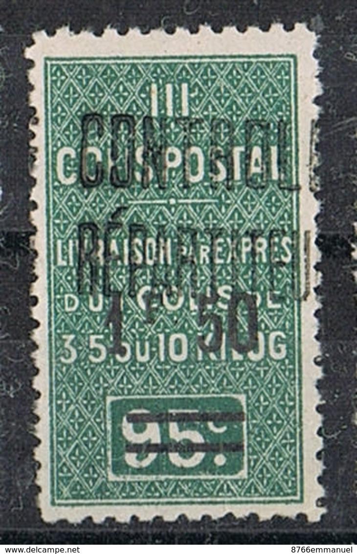 ALGERIE COLIS POSTAL N°29 N* - Algérie (1924-1962)
