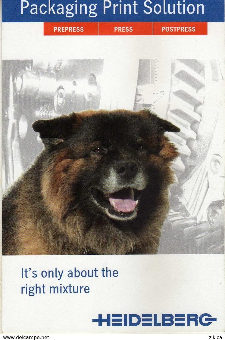 Advertising - Heidelberg - Dogs - Publicité