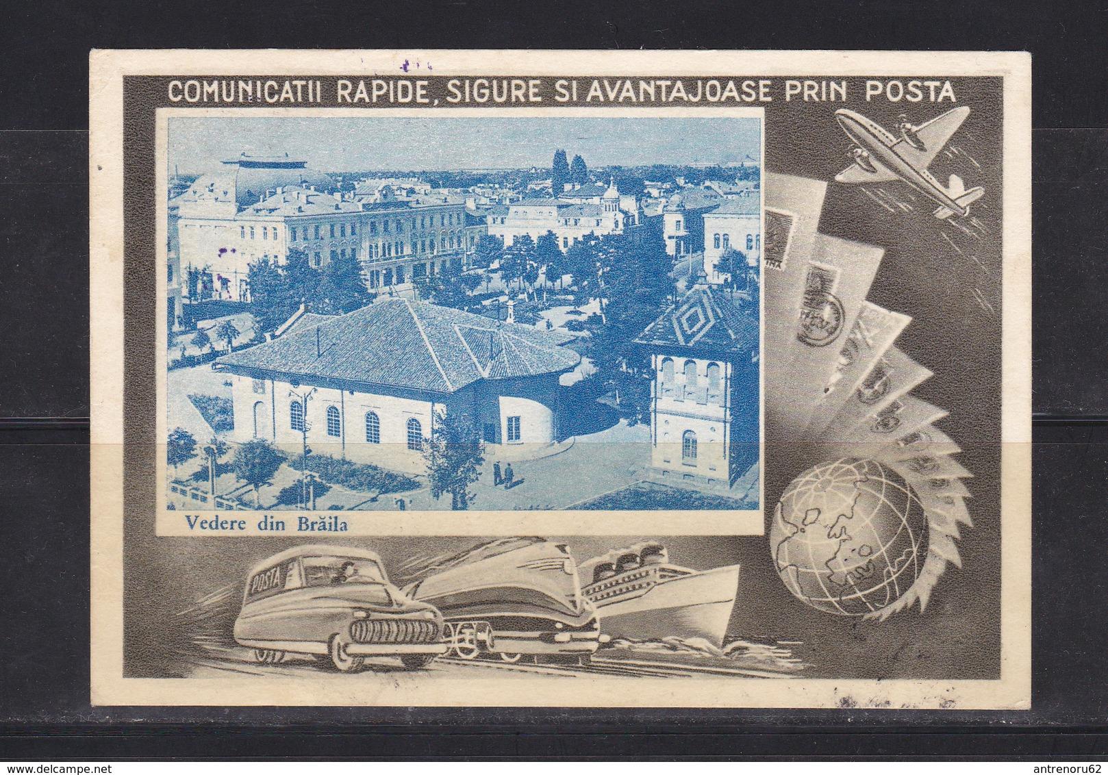 POSTCARD-ROMANIA-BRAILA-SEE-SCAN - Romania