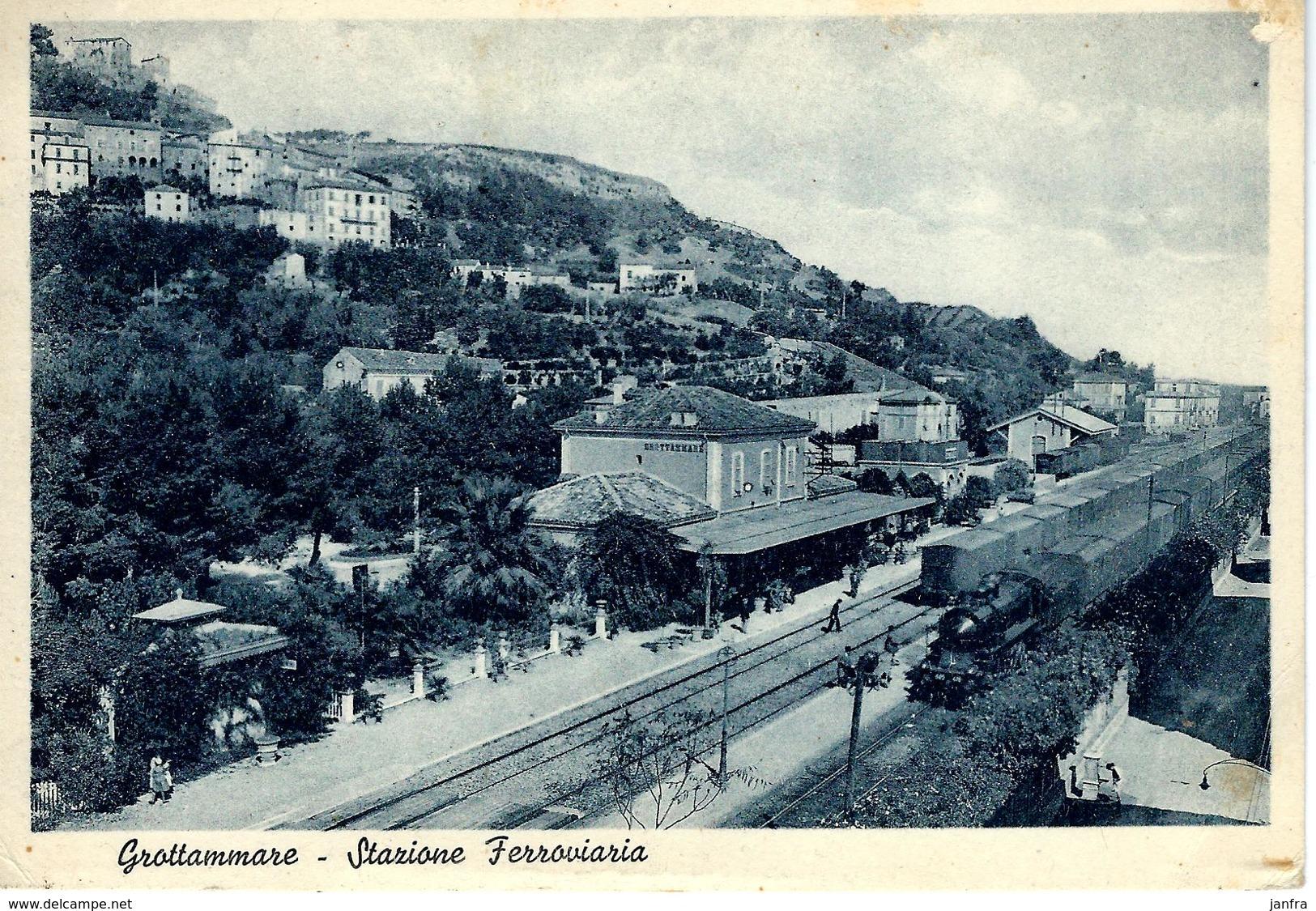 GROTTAMMARE - STAZIONE FERROVIARIA - Ascoli Piceno