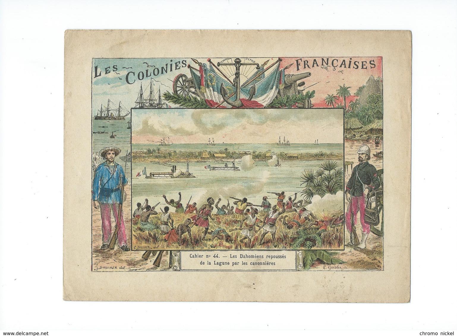 DAHOMEY La Lagune Badaire Amelot Le Whémé Protège-cahier Couverture 220 X 175 Mm  Bien 3 Scans Colonies Françaises - Protège-cahiers